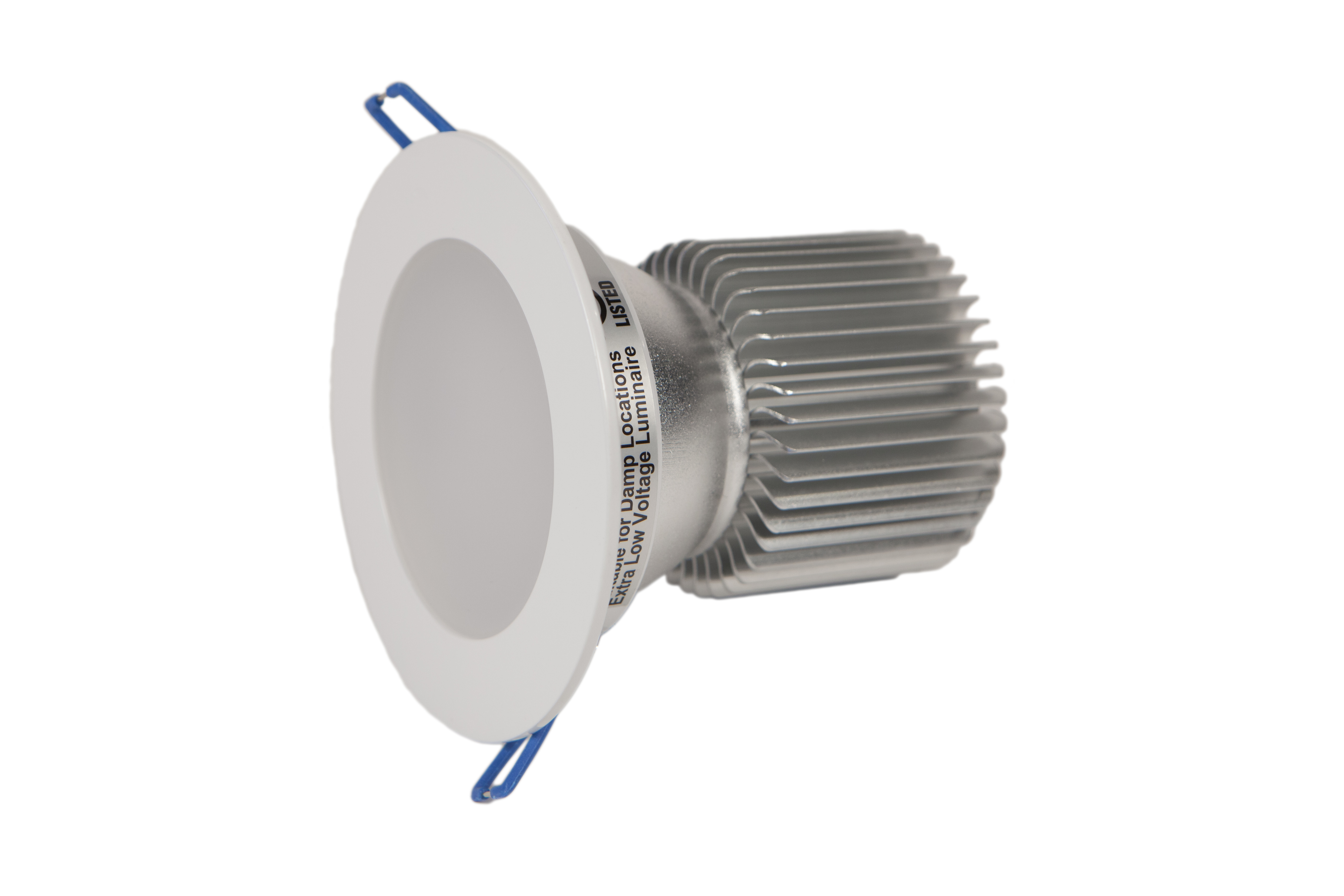 """best website bbae8 67cd5 7.5W, 4"""" Dimmable White LED Recessed Lights (DC)"""