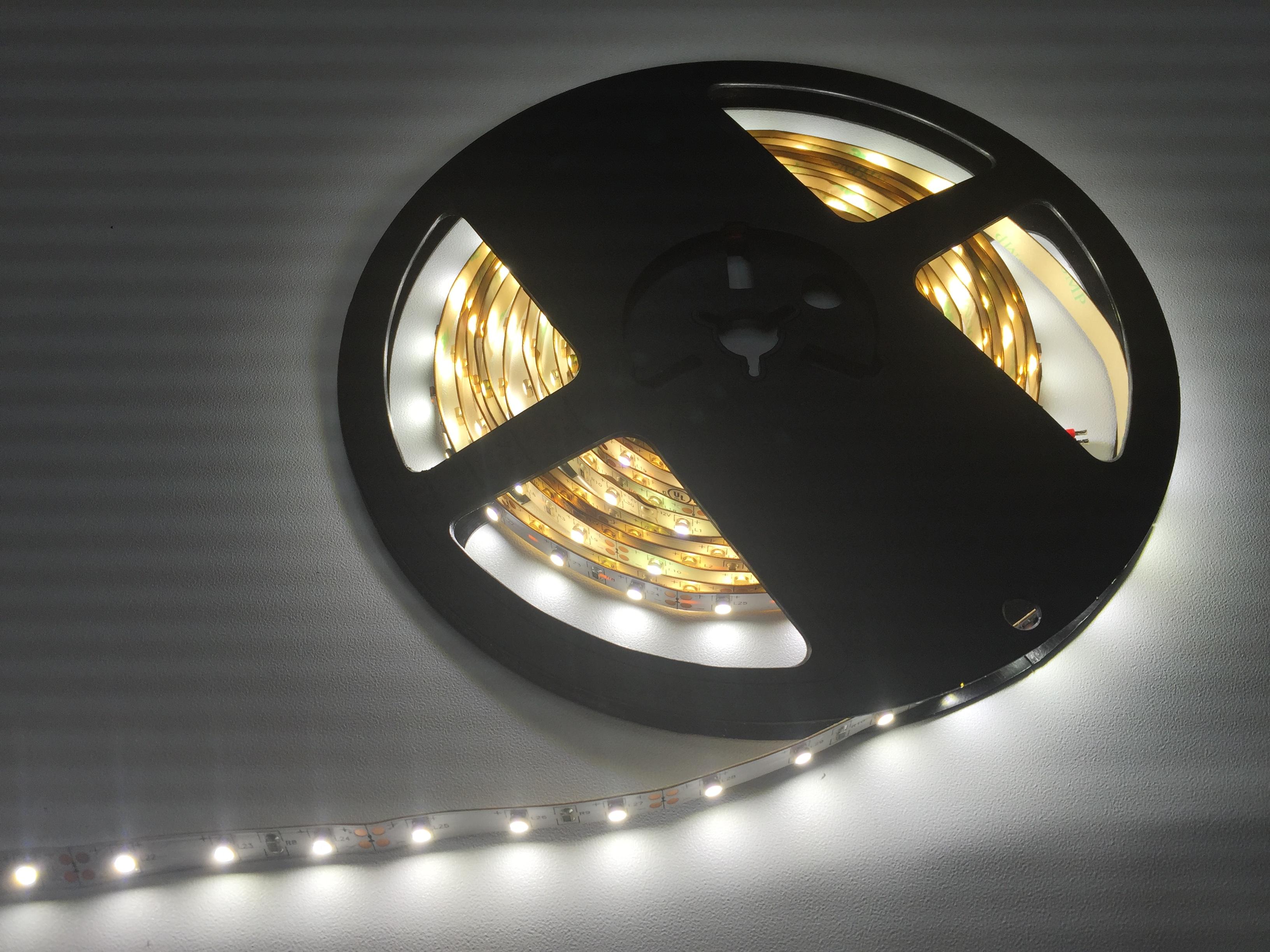 Flexible, Dimmable Indoor Single Color LED Strip Lights (DC) - Rimikon